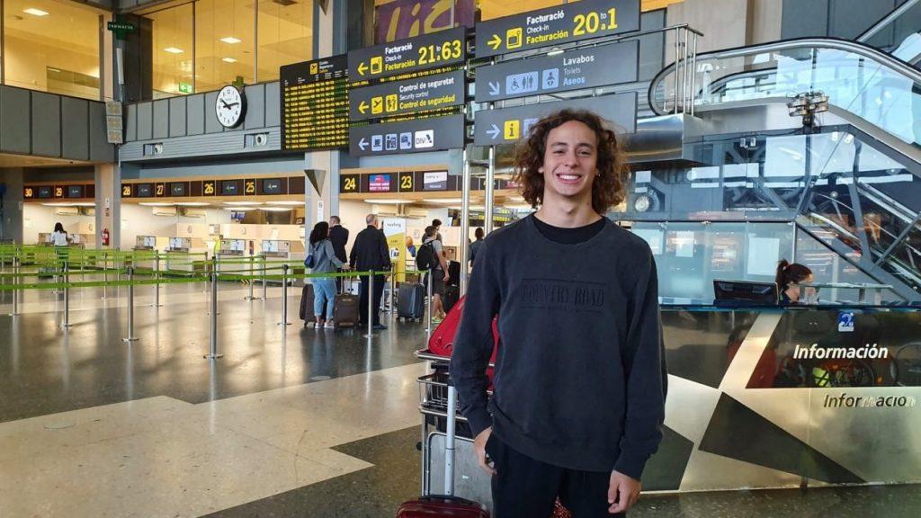 F3 | Alex Peroni è tornato in Australia per il recupero
