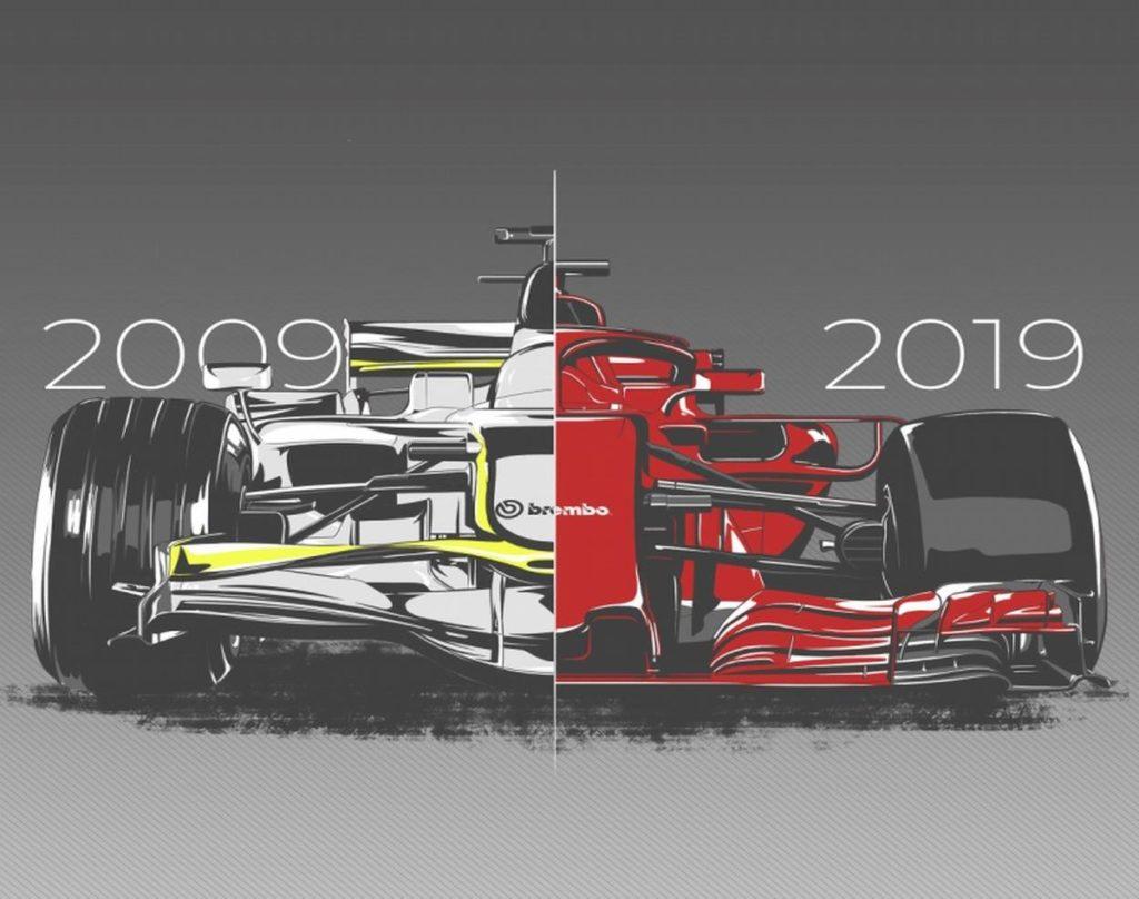 F1 | 2009-2019, i freni Brembo a confronto