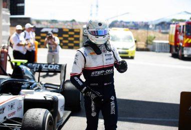 F2 | Juan Manuel Correa in piedi per la prima volta