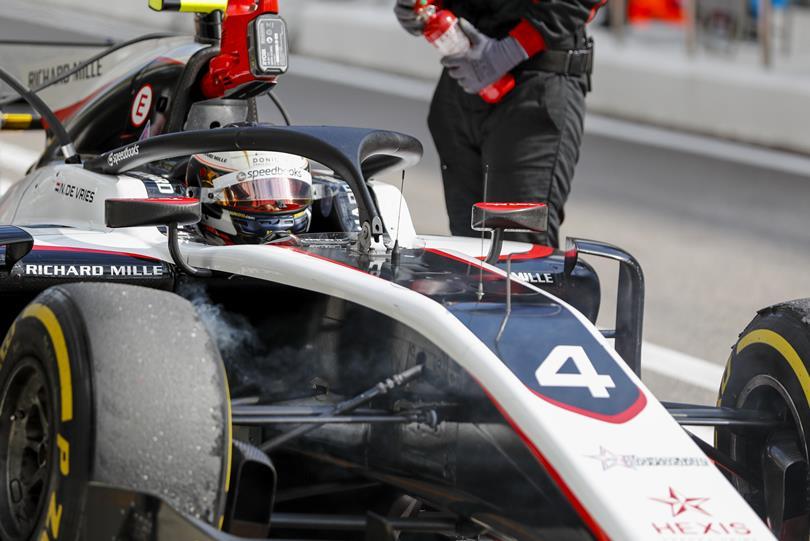 F2 | GP Russia: de Vries batte Latifi in qualifica e si prende altri quattro punti