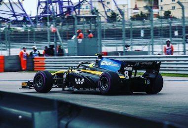 F2 | GP Russia: Ghiotto vince la sprint, incidente senza conseguenze al via