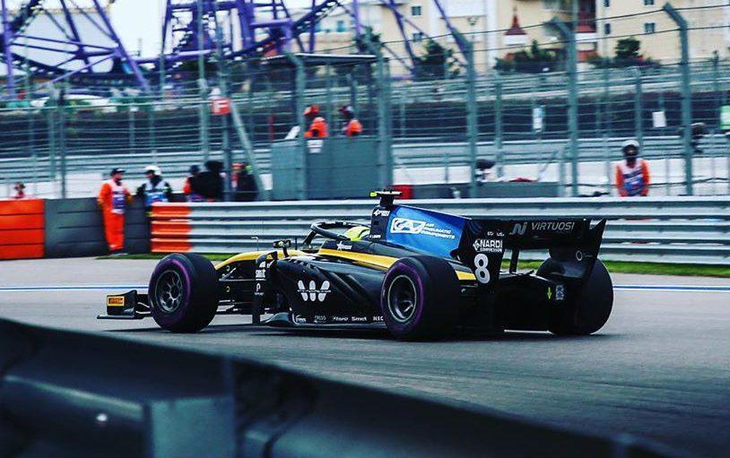 F2   GP Russia: Ghiotto vince la sprint, incidente senza conseguenze al via