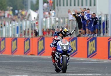 """Nel 2011, la """"prima"""" di Jorge Lorenzo in MotoGP a Misano"""