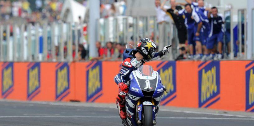 """<span class=""""entry-title-primary"""">Nel 2011, la """"prima"""" di Jorge Lorenzo in MotoGP a Misano</span> <span class=""""entry-subtitle"""">Vittoria numero 38 dello spagnolo, nella stagione del mondiale di Stoner</span>"""