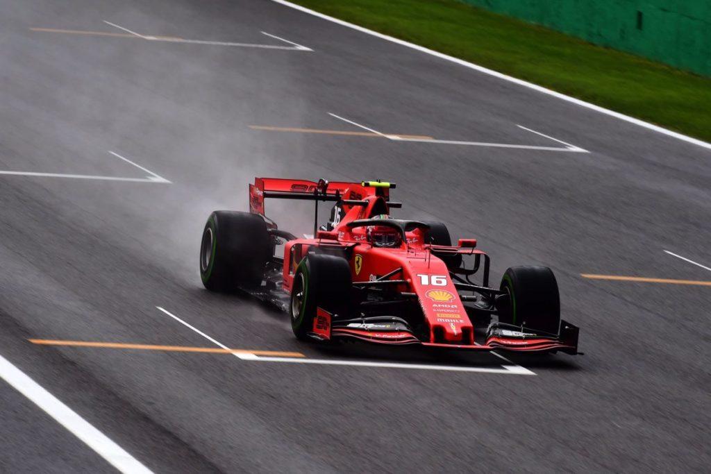 F1 | GP Italia: Charles Leclerc il più veloce nella FP1 dopo la pioggia