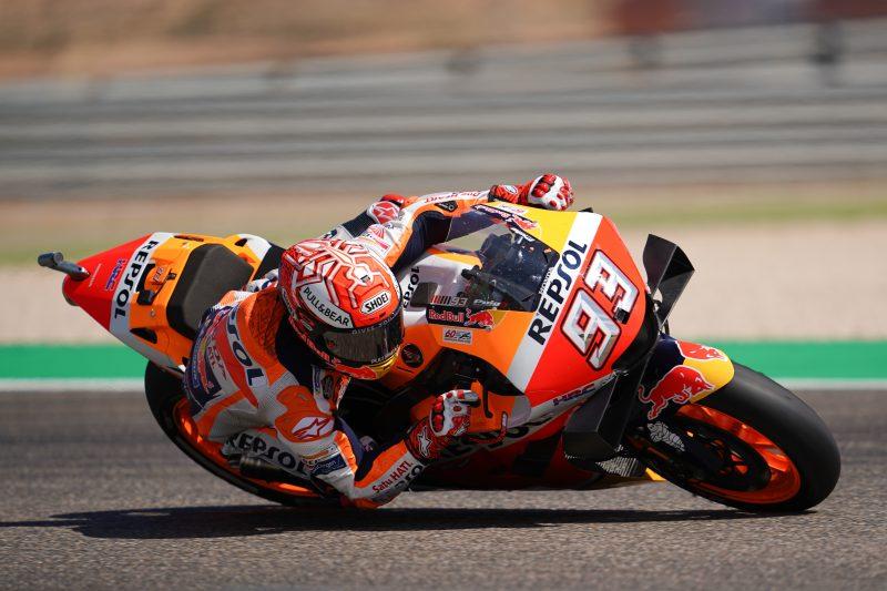 MotoGP | GP Aragón: Márquez imbattibile, terzo successo in Spagna di quest'anno