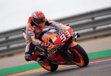 MotoGP | GP Aragón: Marc Márquez conquista la pole position