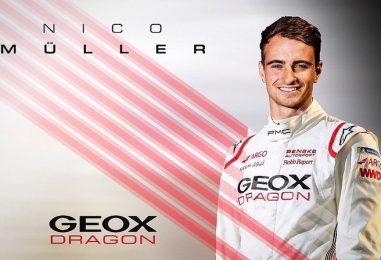 Formula E | Nico Muller completa la line-up per Geox Dragon