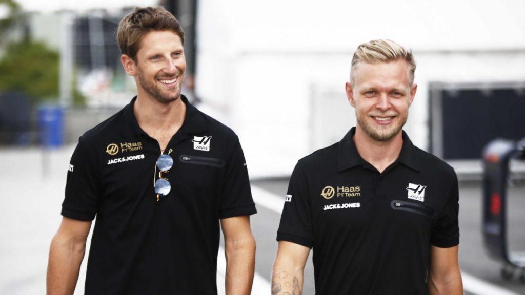 F1   La Haas conferma Magnussen e Grosjean anche per il 2020