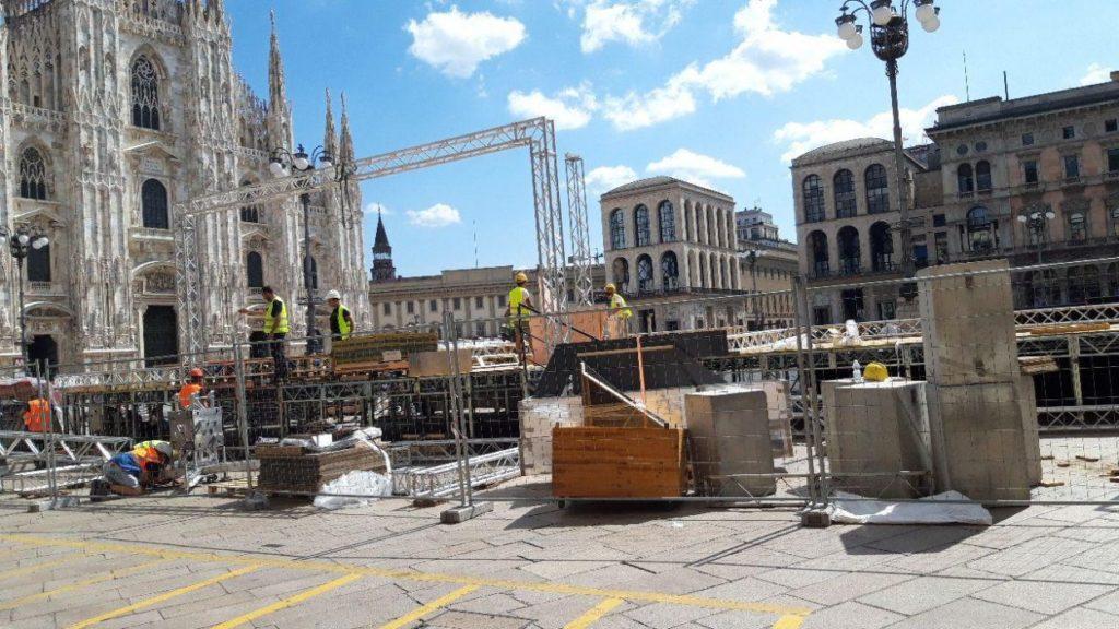 F1 | Milano e Piazza Duomo pronti per la festa dei 90 anni Ferrari