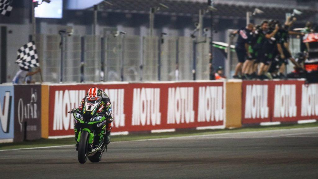 SBK   GP Qatar: Rea mette a segno il 17° successo regolando le Ducati