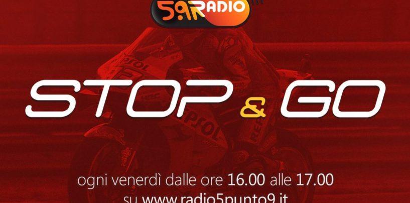 """<span class=""""entry-title-primary"""">""""Stop&Go"""" live venerdì 4 ottobre alle ore 16:00 su Radio 5.9</span> <span class=""""entry-subtitle"""">La trasmissione di P300 in diretta fino alle 17</span>"""