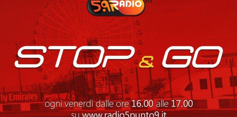 """<span class=""""entry-title-primary"""">""""Stop&Go"""" live venerdì 11 ottobre alle ore 16:00 su Radio 5.9</span> <span class=""""entry-subtitle"""">La trasmissione di P300 in diretta fino alle 17</span>"""