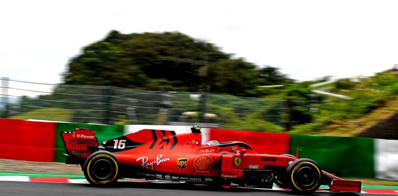 """<span class=""""entry-title-primary"""">F1   GP Giappone, Leclerc penalizzato di 15"""", finisce settimo dietro Ricciardo</span> <span class=""""entry-subtitle"""">Il monegasco prende 10 secondi per aver guidato con l'ala rotta e 5 per il contatto con Verstappen</span>"""