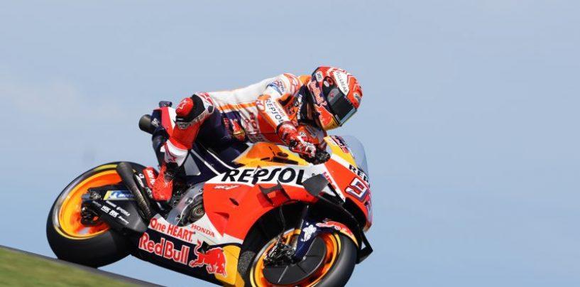 "<span class=""entry-title-primary"">MotoGP | GP Australia: Márquez spinge Viñales all'errore, Phillip Island è sua</span> <span class=""entry-subtitle"">Lo spagnolo della Honda vince ancora con un altro sorpasso all'ultimo giro, Viñales a terra</span>"
