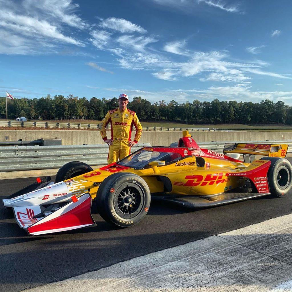 Indycar | Completato il test con l'aeroscreen al Barber 1