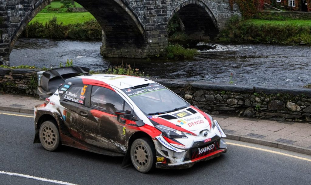 WRC | Galles: sei piloti in dieci secondi, comanda Meeke