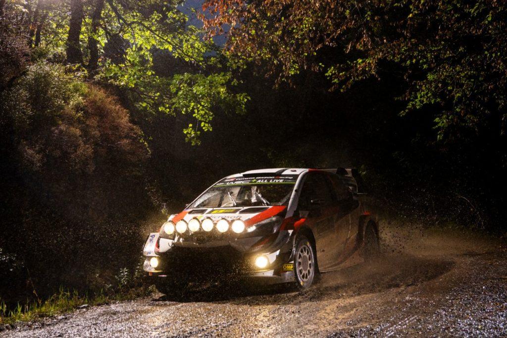 WRC   Galles: Tänak rimonta e passa in testa, out Lappi e Latvala