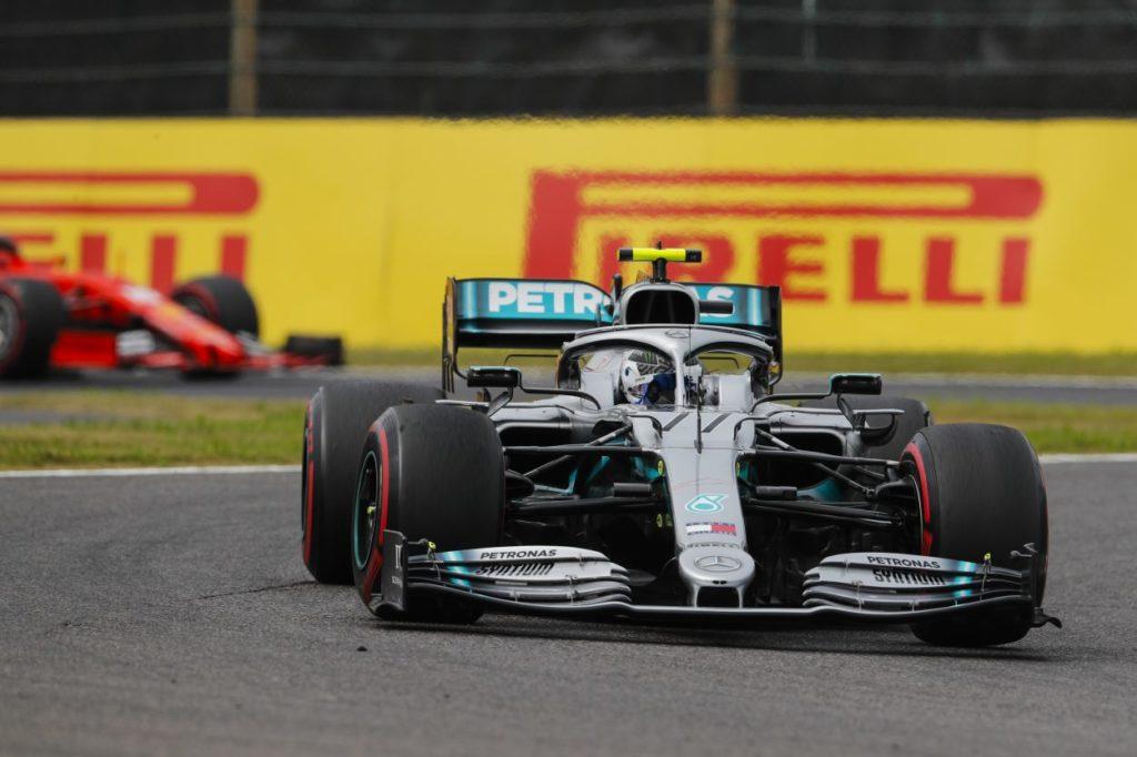 F1   GP Giappone: vince Bottas, Mercedes Campione Costruttori per la sesta volta di fila
