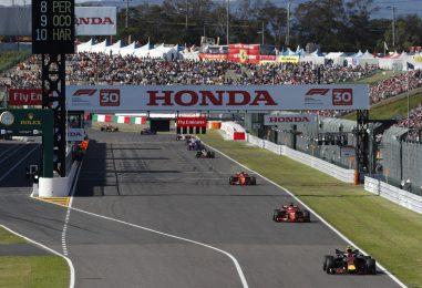 F1 | GP Giappone, cancellata l'attività del sabato per il tifone Hagibis