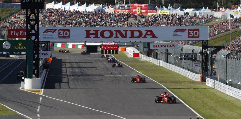 """<span class=""""entry-title-primary"""">F1   GP Giappone, cancellata l'attività del sabato per il tifone Hagibis</span> <span class=""""entry-subtitle"""">Le qualifiche saranno posticipate a domenica mattina</span>"""