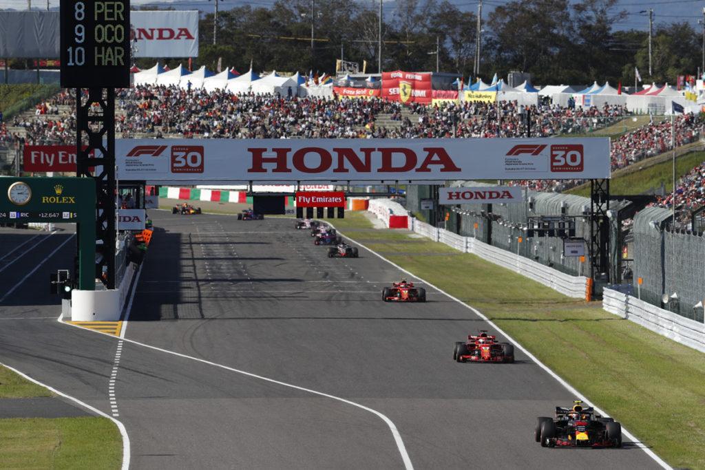 F1   GP Giappone, cancellata l'attività del sabato per il tifone Hagibis
