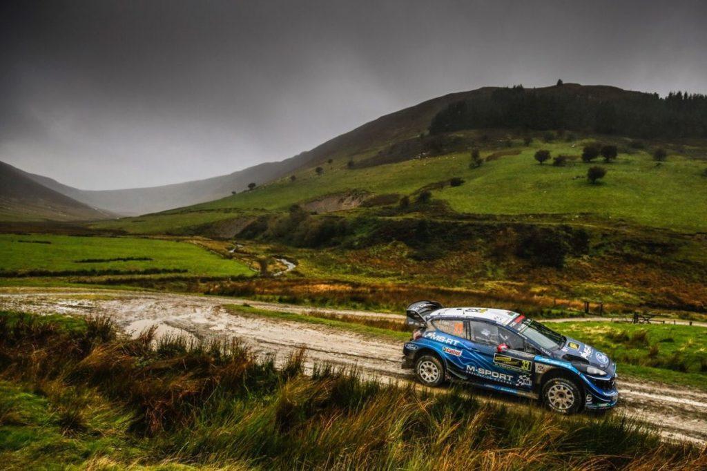 WRC | Galles: Tänak mantiene la prima posizione, Evans dà spettacolo