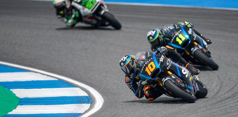 """<span class=""""entry-title-primary"""">Moto2   GP Thailandia: Luca Marini riporta l'Italia davanti nella classe di mezzo</span> <span class=""""entry-subtitle"""">Podio completato dalla KTM di Binder e Lecuona. Quarto Fernández davanti ad Álex Márquez</span>"""