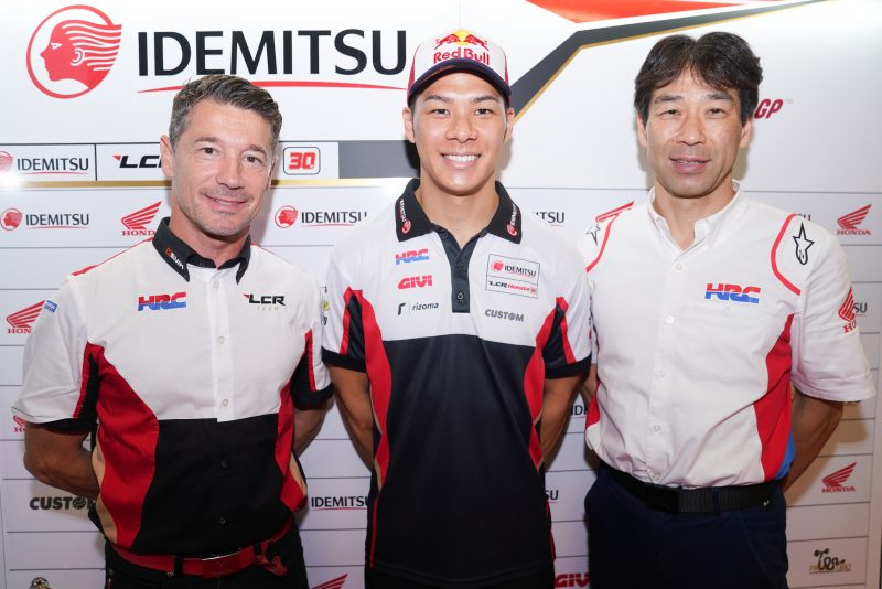 MotoGP   Takaaki Nakagami rinnova con Honda LCR per il 2020