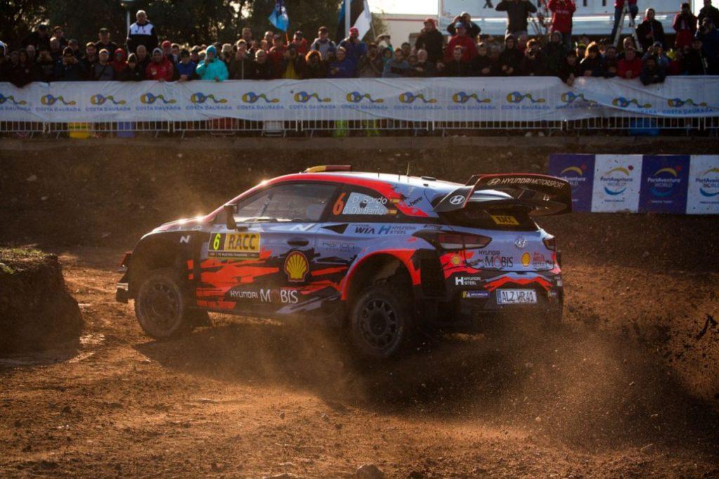 WRC   Catalunya: Sordo è il primo leader, Ogier tradito dal servosterzo