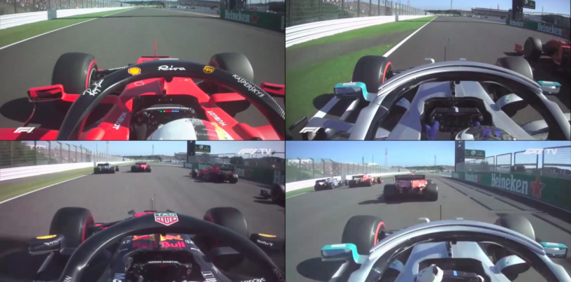 """<span class=""""entry-title-primary"""">F1   GP Giappone, il via al microscopio: errore di Vettel non fatale, Bottas è una fionda</span> <span class=""""entry-subtitle"""">Il tempo di reazione del finlandese al via è fantastico, tutti gli altri sono più lenti</span>"""