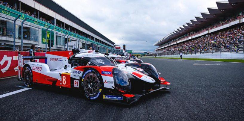 "<span class=""entry-title-primary"">WEC | Fuji: dominano Toyota #8 e Aston Martin #95</span> <span class=""entry-subtitle"">Buemi, Hartley e Nakajima sbancano, aiutati dal success ballast</span>"