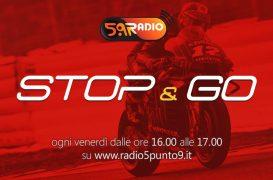 """""""Stop&Go"""" live venerdì 29 novembre alle ore 16:00 su Radio 5.9"""