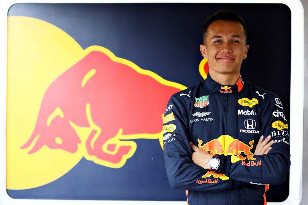 F1 | Alexander Albon affiancherà Max Verstappen in Red Bull nel 2020