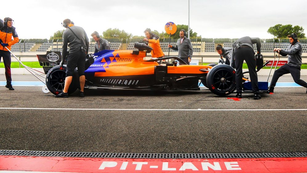 F1   McLaren ha completato i test Pirelli con i cerchi da 18