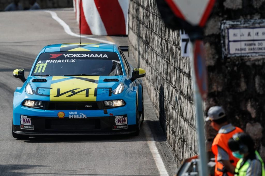 WTCR   GP Macao: Priaulx supera Huff e conquista il Guia Race 2019