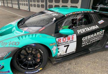Primo test per Andrea Cola con una Lamborghini GT3