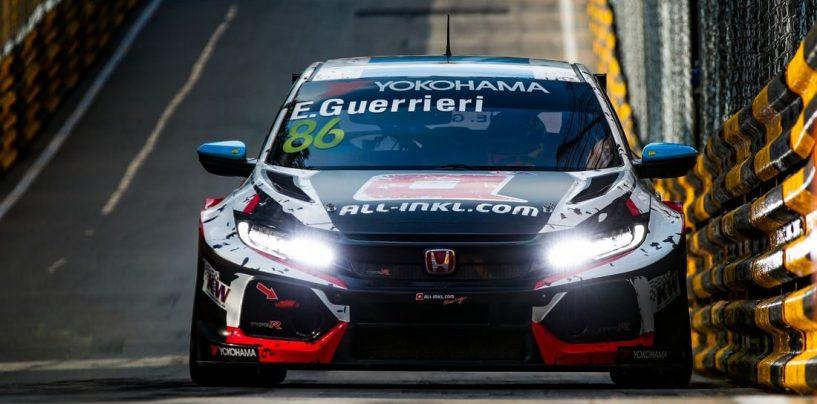 """<span class=""""entry-title-primary"""">WTCR   Macao: Esteban Guerrieri perde la pole di gara-2</span> <span class=""""entry-subtitle"""">L'argentino ha ostacolato Catsburg durante la Q2, prima fila tutta Lynk</span>"""