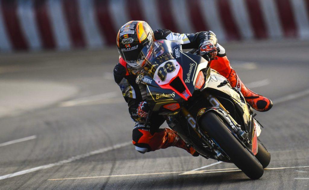 GP Macao: prime pole provvisorie per Jake Hughes e Peter Hickman