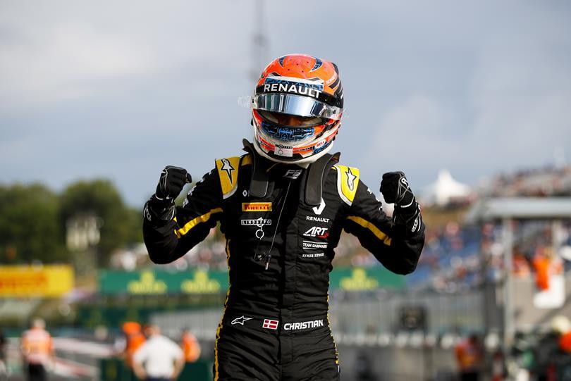 F2 | Christian Lundgaard debutta con Trident ad Abu Dhabi