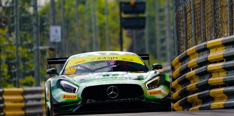 """<span class=""""entry-title-primary"""">GP Macao: pole position da urlo per Vips e Marciello, Hickman soffre ma si conferma</span> <span class=""""entry-subtitle"""">L'estone e l'italiano distruggono i record della pista in F3 e GT3, Rutter fa tremare il poleman delle due ruote</span>"""