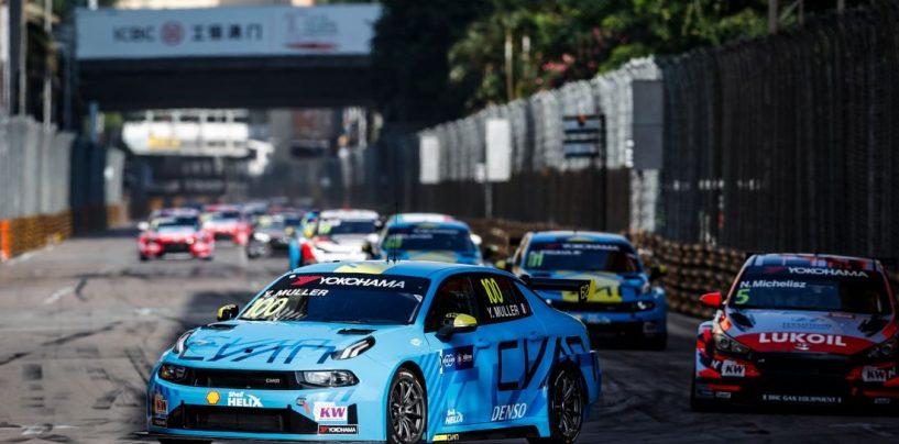 """<span class=""""entry-title-primary"""">WTCR   GP Macao: Muller si ripete in gara-2, Ceccon nuovamente terzo</span> <span class=""""entry-subtitle"""">L'alsaziano recupera altri punti in classifica su Guerrieri e Michelisz</span>"""