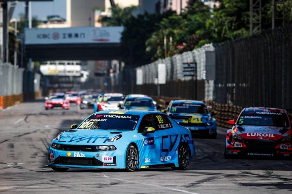 WTCR | GP Macao: Muller si ripete in gara-2, Ceccon nuovamente terzo
