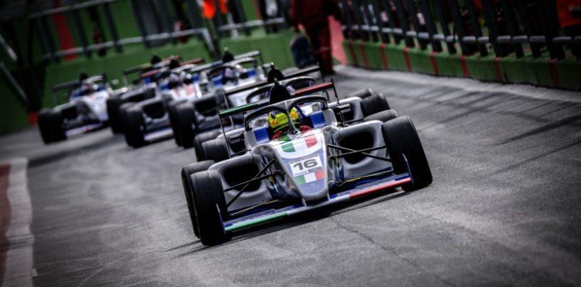 """<span class=""""entry-title-primary"""">FIA Motorsport Games 2019: Andrea Rosso oro in F4, Italia 2a nel medagliere</span> <span class=""""entry-subtitle"""">A Vallelunga vince la Russia con un oro e due bronzi</span>"""