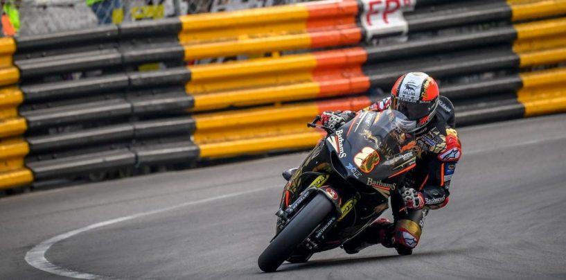 """<span class=""""entry-title-primary"""">GP Macao: Michael Rutter vince la corsa motociclistica, è il nono trionfo</span> <span class=""""entry-subtitle"""">Successo conquistato su un solo giro di gara, beffato Hickman</span>"""