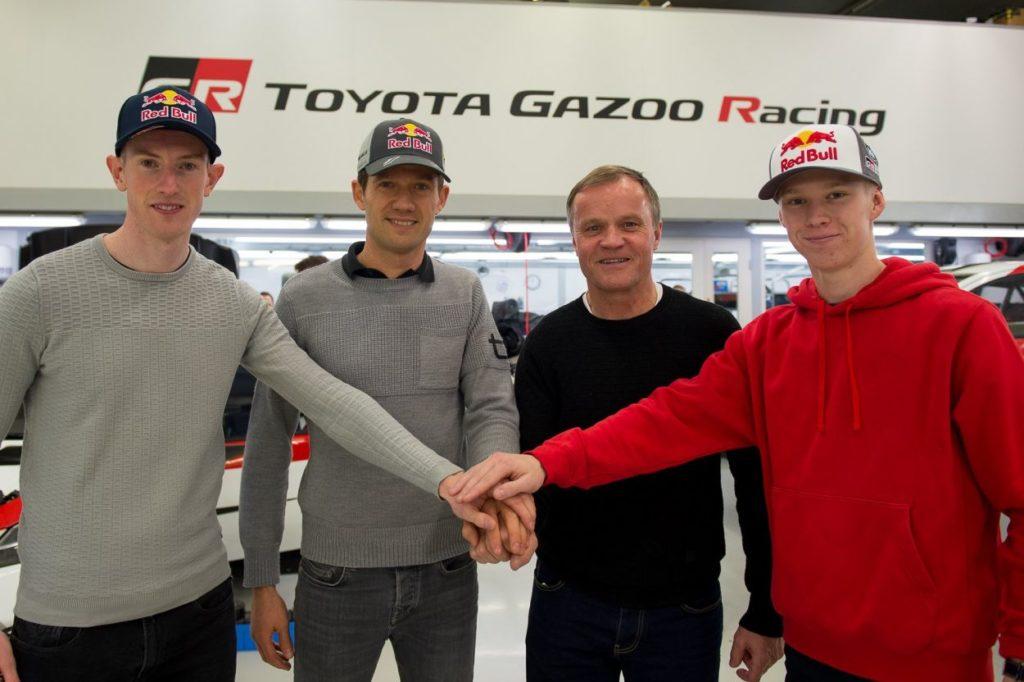 WRC | Toyota cambia tutto: Ogier, Evans e Rovanperä i piloti 2020