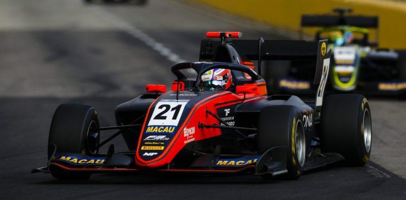 "<span class=""entry-title-primary"">GP Macao: Richard Verschoor re della Formula 3 al debutto</span> <span class=""entry-subtitle"">L'olandese ha la meglio su Vips, terzo Sargeant. Shwartzman subito fuori</span>"