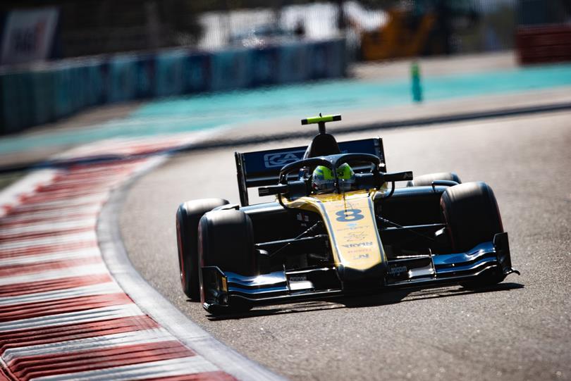F2 | GP Abu Dhabi: Ghiotto lascia con una vittoria, Latifi vice-campione