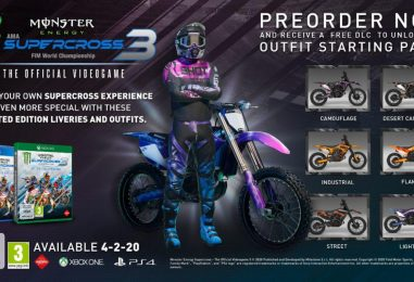 In uscita Monster Energy Supercross – The Official Videogame 3
