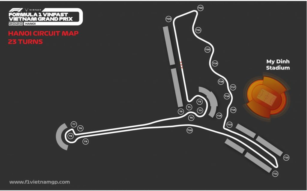 F1 | Modificato il layout del GP del Vietnam 1